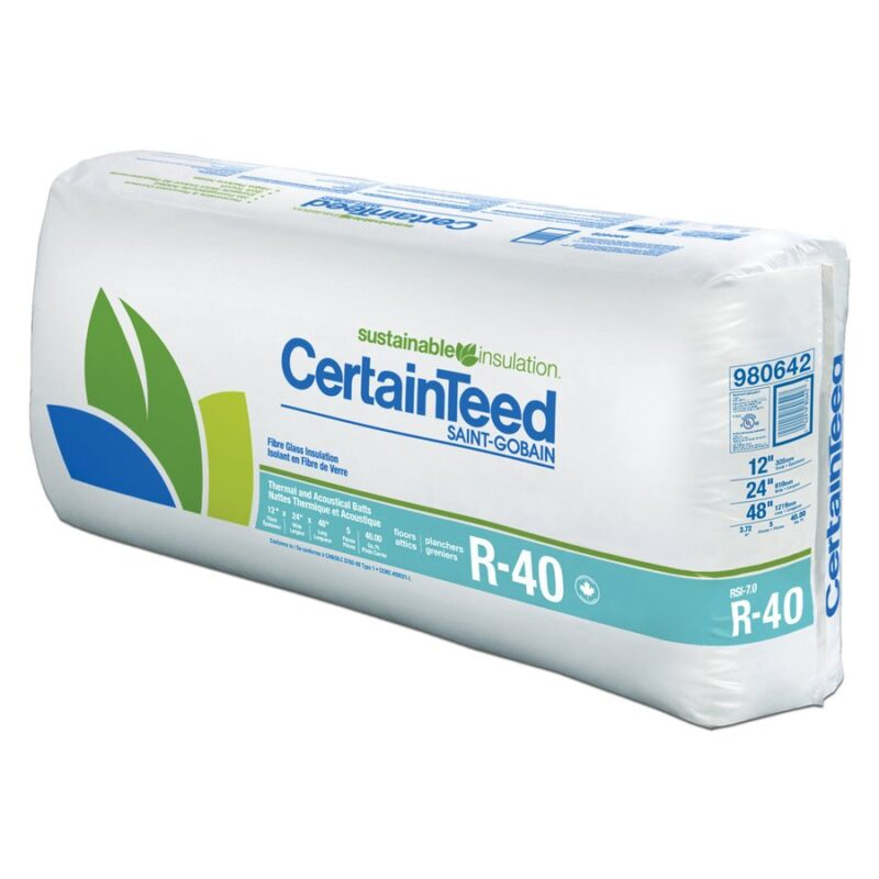 r40 insulation delivery